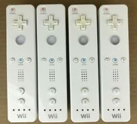 (4 Pack) Nintendo Wii Remote Controller Wiimote White (RVL-003) Tested / OEM