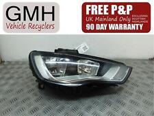 Audi A3 Mk3 Right Driver O/S Headlight Headlamp 10 Pin 8v0941004a 2013-2020÷®