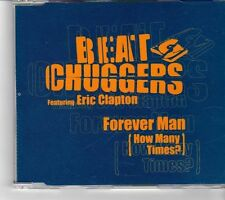 (FK830) Beatchuggers Feat Eric Clapton, Forever Man (How Many Times?) - 2000 CD