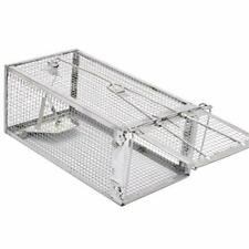 Animal Humane Live Cage Rat Mouse Chipmunk Rodent Voles Hamsters Trap Small