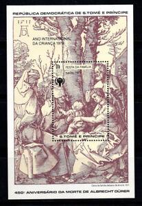 Sao Tome und Prince 1979 Mi. Bl. 40 Block 100% Postfrisch Weihnachten, Kinder