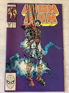 Iron Man #232 (Marvel Comics 1988) Barry Windsor-Smith VF/NM