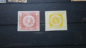 Uruguay ++ 2 mint MH*  old stamp
