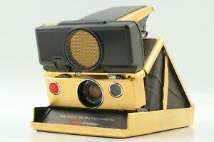 """MINT+++ Gold Edition"" Polaroid SX-70 Sonar OneStep Land Instant Camera JAPAN"