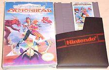 Clash at Demonhead Nintendo NES original game Cartridge & Original Box No Manual