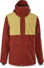 Dakine WYEAST Mens Zip/Snap Front Hoodie Jacket Large Russet NEW 2019 Sample