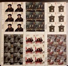 GB 2016 Royal mail 500-500 Nuovo di zecca stamp set-Blocco Cilindro & Data vendita Scheda-Gomma integra, non linguellato