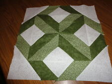 Plastic Templates - Shaded Trail quilt - 15 inch block