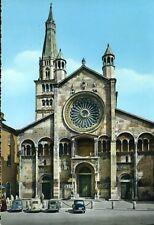 """"""" MODENA : Facciata del Duomo e Ghirlandina """"   Viaggiata  ANNO 1961"""