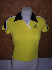 maillot  cyclisme / de vélo, femme, GIORDANA,jaune- supplex en M (38/40)- A874