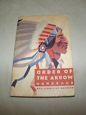 VINTAGE 1970 BSA BOY SCOUTS OF AMERICA ORDER OF THE ARROW GUIDE HANDBOOK