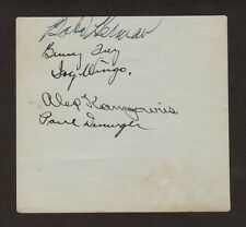 1919 Reds IVY WINGO Baseball Autograph, Died 1941, JSA Auth.