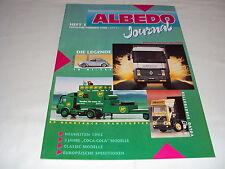 W/4/13/1 MODELLO DI AUTO Catalogo Prospetto albedo miniatura modelli Journal Estate 1992