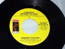 Johnny [Johnnie] Taylor: I Can Read Between.../ Cheaper to Keep Her  [Unplayed]