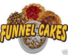 """Funnel Cake Cakes Concession Trailer Decal 14"""""""