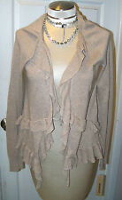 DONNA KARAN DKNY -sz S BEAUTIFUL SHRUG - BEIGE  - NWT