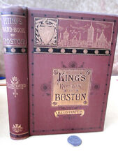 KING'S HAND-BOOK Of BOSTON, ILLUSTRATED,1879,Moses King, Boston,Illust