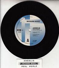 "RICHARD MARX  Angelia 7"" 45 rpm vinyl record + juke box title strip"