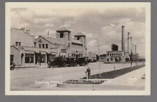 1929 Real Photo Postcard Parco, Wyoming Lincoln Ave. First National Bank