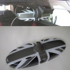 Espejo Interior en Union Jack Black para Mini One Cooper R55 R56 R57 Cabrio R60