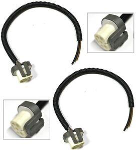 Extension Wire Pigtail Female Ceramic 9004 HB1 Head Light Harness Bulb Plug H/L