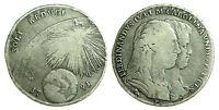 pci0283) Napoli regno Ferdinando IV grana 120 piastra 1791 SOLI REDUCI
