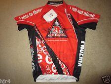 Red Rider Diabetes ADA Cycling Biking Primal Raglan Jersey SM S Small mens NEW
