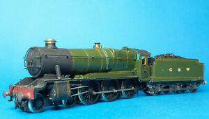 Kit Built GWR 10xx Class County of Hereford 4-6-0 Brass White metal OO gauge