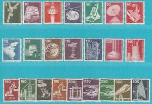 Berlin aus 1975-1982 ** postfrisch komplette Serie 23 Werte Industrie u. Technik