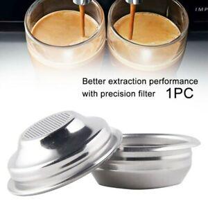 58mm Kaffee Filterkorb Stahl Kaffeemaschine Espressomaschine Gadget VERKAUF