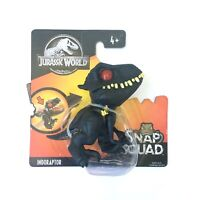 Jurassic World INDORAPTOR Snap Squad Figure Baby Dinosaur Mini Toy Mattel NEW