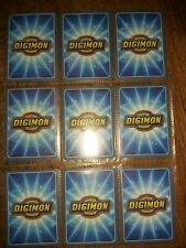 Lot Of 35  1999 Bandai Digimon Collection VG - NM