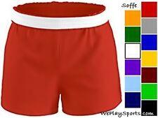 NEW Soffe Womens-Juniors Cheerleading Dance Gym Cheer Shorts  XS-XXL, 16 colors