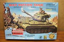 REVELL-RENWALL M47 PATTON TANK With COMBAT CREW of FIVE 1/32 SCALE MODEL KIT