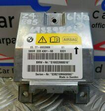 BMW Z4 Roadster Driver Airbag ECU E85 6933988 6/3R