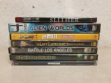 Sci-Fi Aliens Dvd Movie Lot Of 7: Paul, Battle of Los Angeles, Slither, etc.