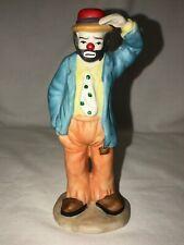 Flambro Emmett Kelly Jr Hobo Clown figurine Looking Out to See