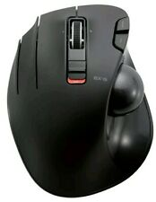 ELECOM Wireless Trackball mouse for Left-Handed, EX-6 Lacks USB Connector