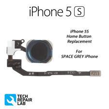NOUVELLE PRIME qualité complet bouton Accueil RECHANGE POUR IPHONE 5S - Noir