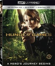 The Hunger Games [New 4K UHD Blu-ray] With Blu-Ray, 4K Mastering, 2 Pack
