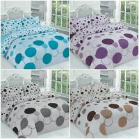 Noah Circle/Polka Dot Duvet Cover Set Bedding Set Quilt Cover with Pillowcases