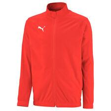 Puma fútbol liga sideline poly chaqueta Core fútbol chaqueta señores rojo