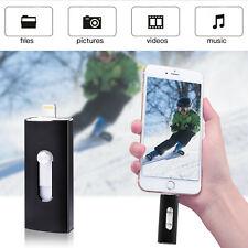 USB3.0 32GB Flash Drive OTG Thumb Drive Memory Stick Pen Drive For iPhone 7 8 X