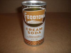 Foodtown Cream Soda 12 OZ.Can 1970's Original S/S