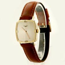 1962 Vintage 18K Yellow Gold Longines Watch Swiss Made