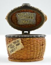 Boyds Bears Tillie's Veggie Basket & Peapod McNibble 1st Edition Treasue Box Art