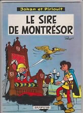 JOHAN et PIRLOUIT PEYO Le sire de Montrésor  8b' 1965 brochée