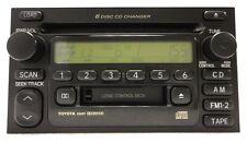 Toyota Radio Tape 6 Disc CD Changer Player 86120-08130 2000 01 02 03 A56811 JBL