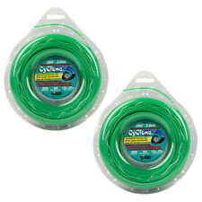 "Cyclone CY080D1/2 .080""x 200' Weed Grass String Trimmer Line 2PK Made In USA"