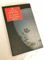 Kazuo Ishiguro ~ An Artist of The Floating World ~ 1st edition in dustjacket